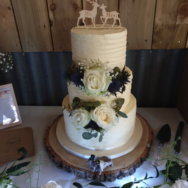 wedding cakes in Norfolk